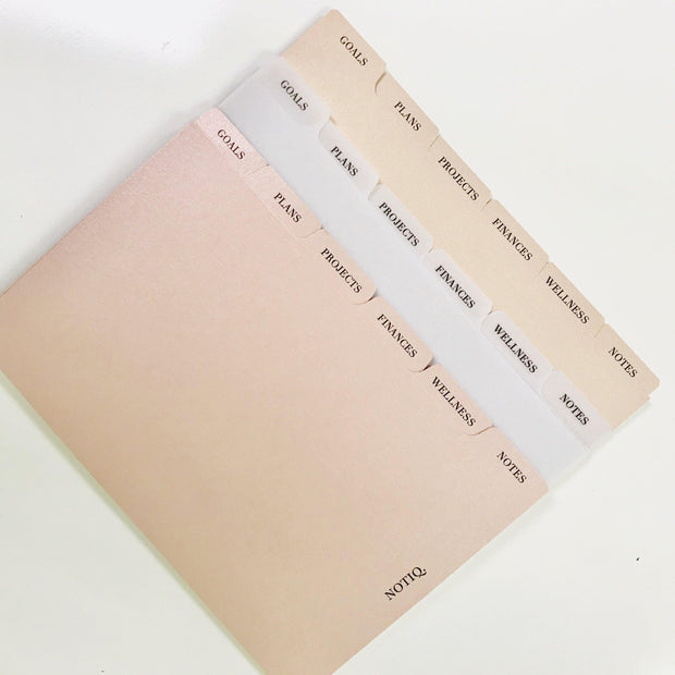 My Lifestyle Side Tab Planner Dividers