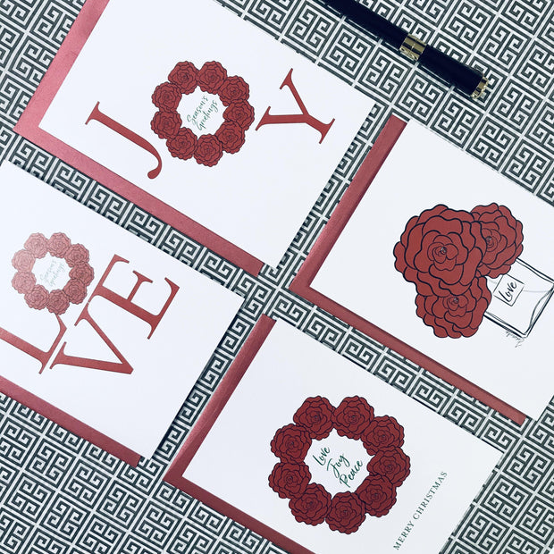 Holly Luxe I - Box of Christmas Cards