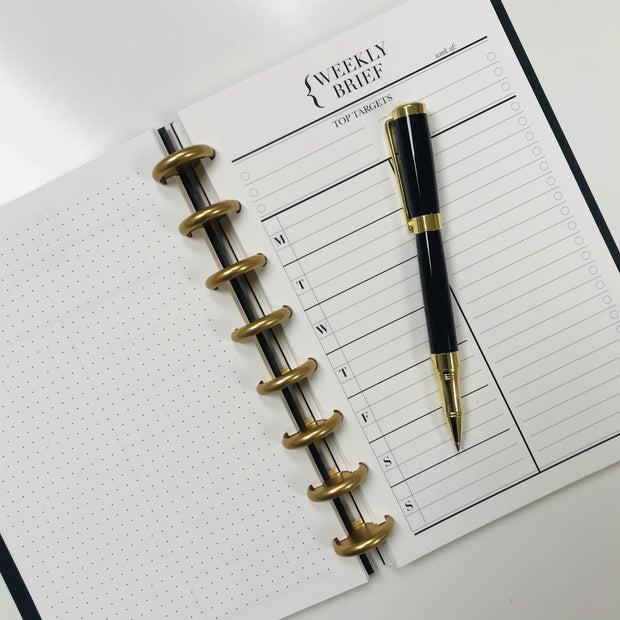 Croco Luxe Planbook - Weekly Edition