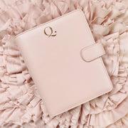 Q5 Blush Saffiano Vegan Leather Agenda Cover A5 Size