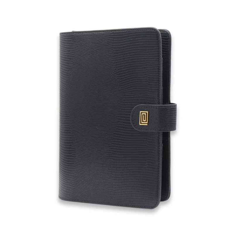 BLAQ Lizard Vegan Agenda Cover RINGLESS / Planner - NOTIQ