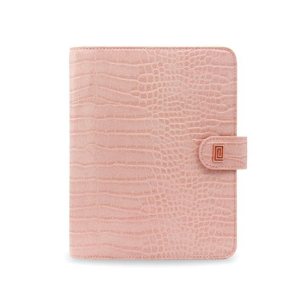 Blush Croco Luxe Vegan RING Agenda - NOTIQ