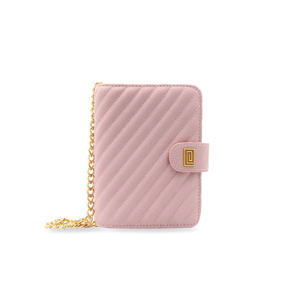 Blush Vegan Matrice Quilted Pocket Agenda / Chain - NOTIQ