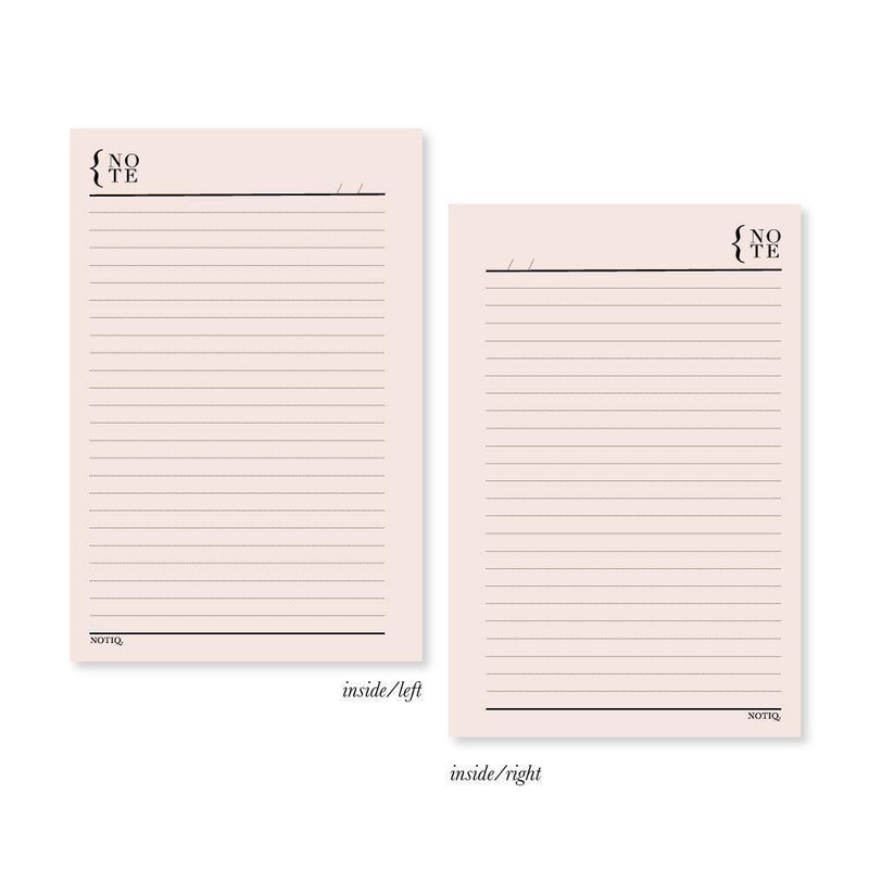 Daily Notes Bulk Planner Inserts & Refill - NOTIQ
