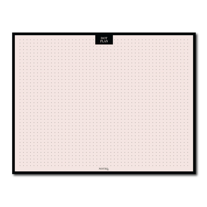Dot Plan Desk Pad/Case - NOTIQ