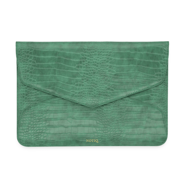 Kelly Croco Vegan Tech Clutch - NOTIQ