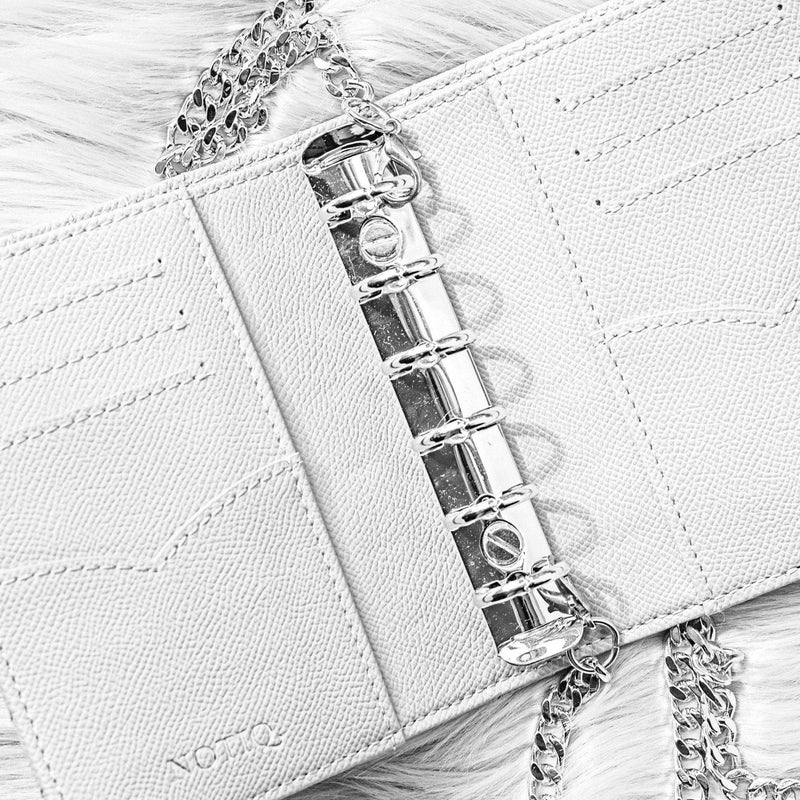 MASQ Croco Luxe Vegan Pocket Agenda / Chain - NOTIQ