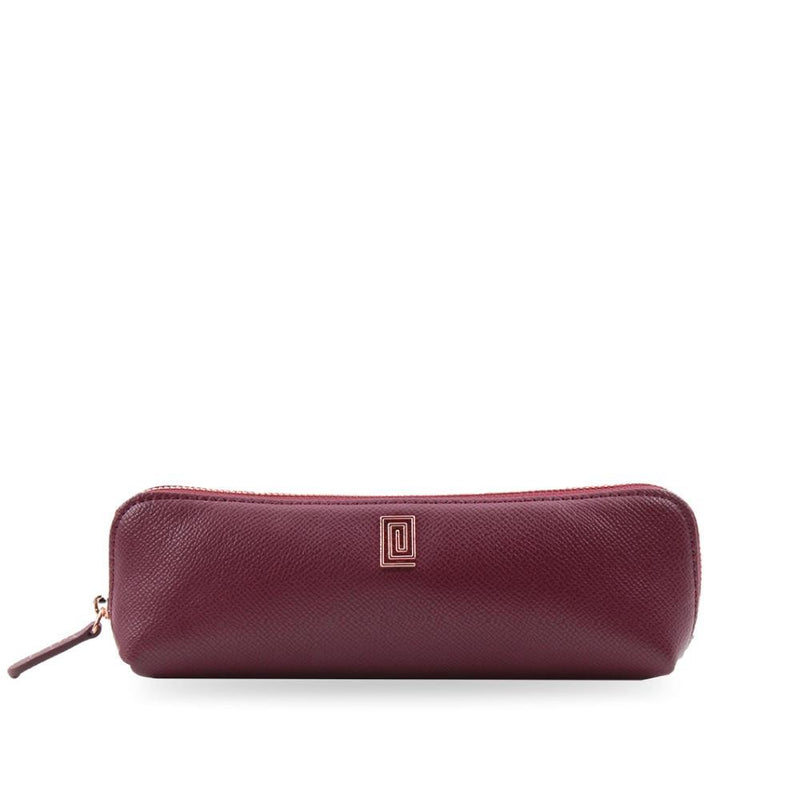 Mulberry Pebble Pen & Pencil Case - NOTIQ