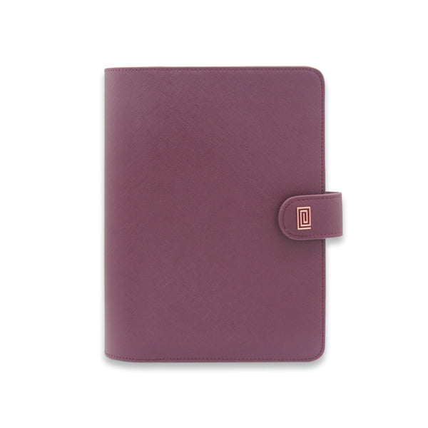 Mulberry Saffiano Vegan Agenda Cover RINGLESS / Planner - NOTIQ