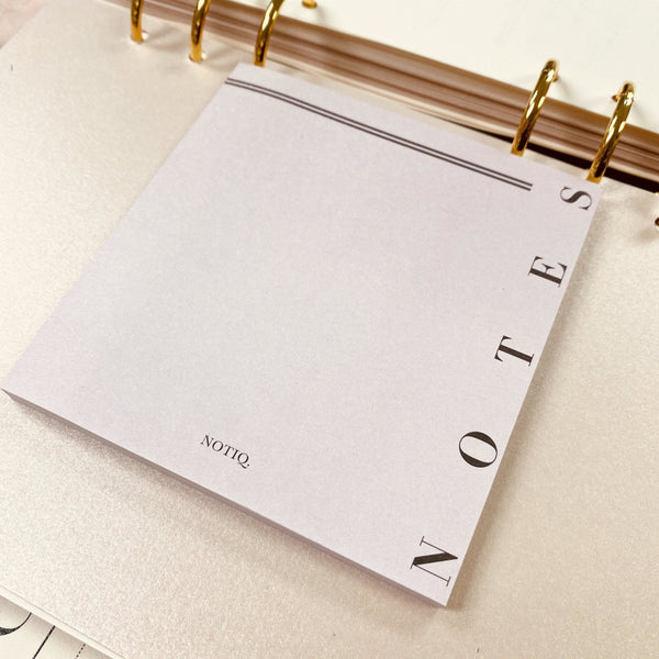 NOTES - Lavish 4 x 4 Sticky Notes - NOTIQ