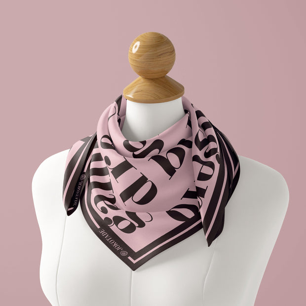 Blush Leta Silk Scarf - NOTIQ