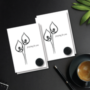 Eyes of Lily Praying for You Note Card Set - NOTIQ