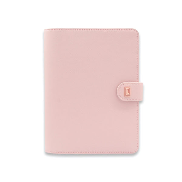 Rose Gold on Rosebud Saffiano Vegan RING Agenda / Planner - NOTIQ