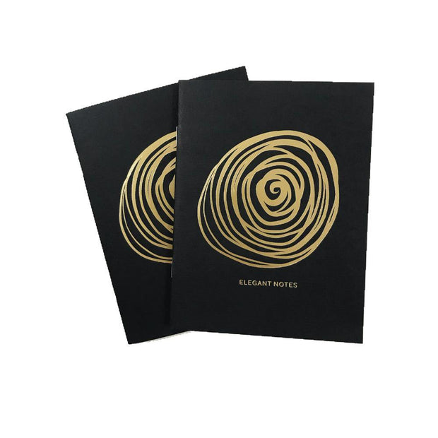 Rosella Gold Elegant Pocket Journals - NOTIQ