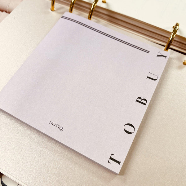 TO BUY - Lavish 4 x 4 Sticky Notes - NOTIQ