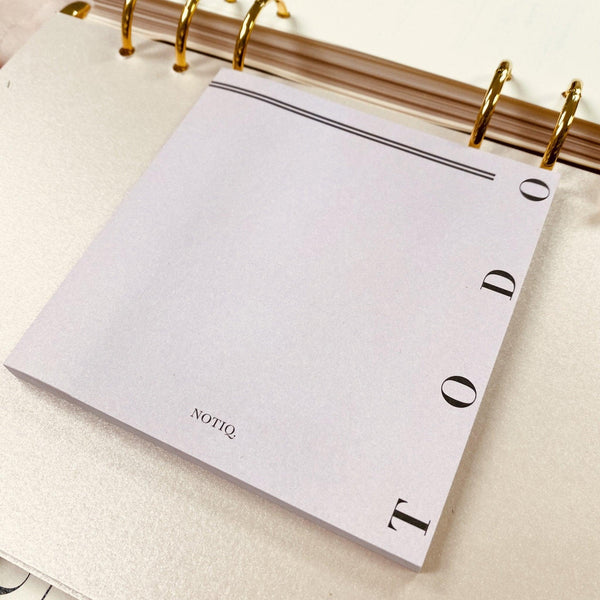 TO DO - Lavish 4 x 4 Sticky Notes - NOTIQ