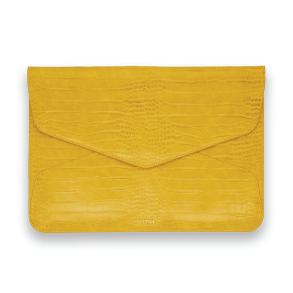 Tuscany Croco Vegan Tech Clutch - NOTIQ