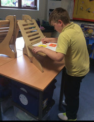 Pupil at EIGER Classroom Standing Desk