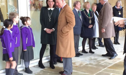 Prince Charles visiting Damers First Schhol