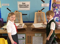 Malton Primary School Children at EIGER Standing Desk