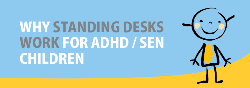 Why Classroom Standing Desks Work for ADHD / SEN Children