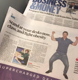The Sunday Times Standing Desk Article