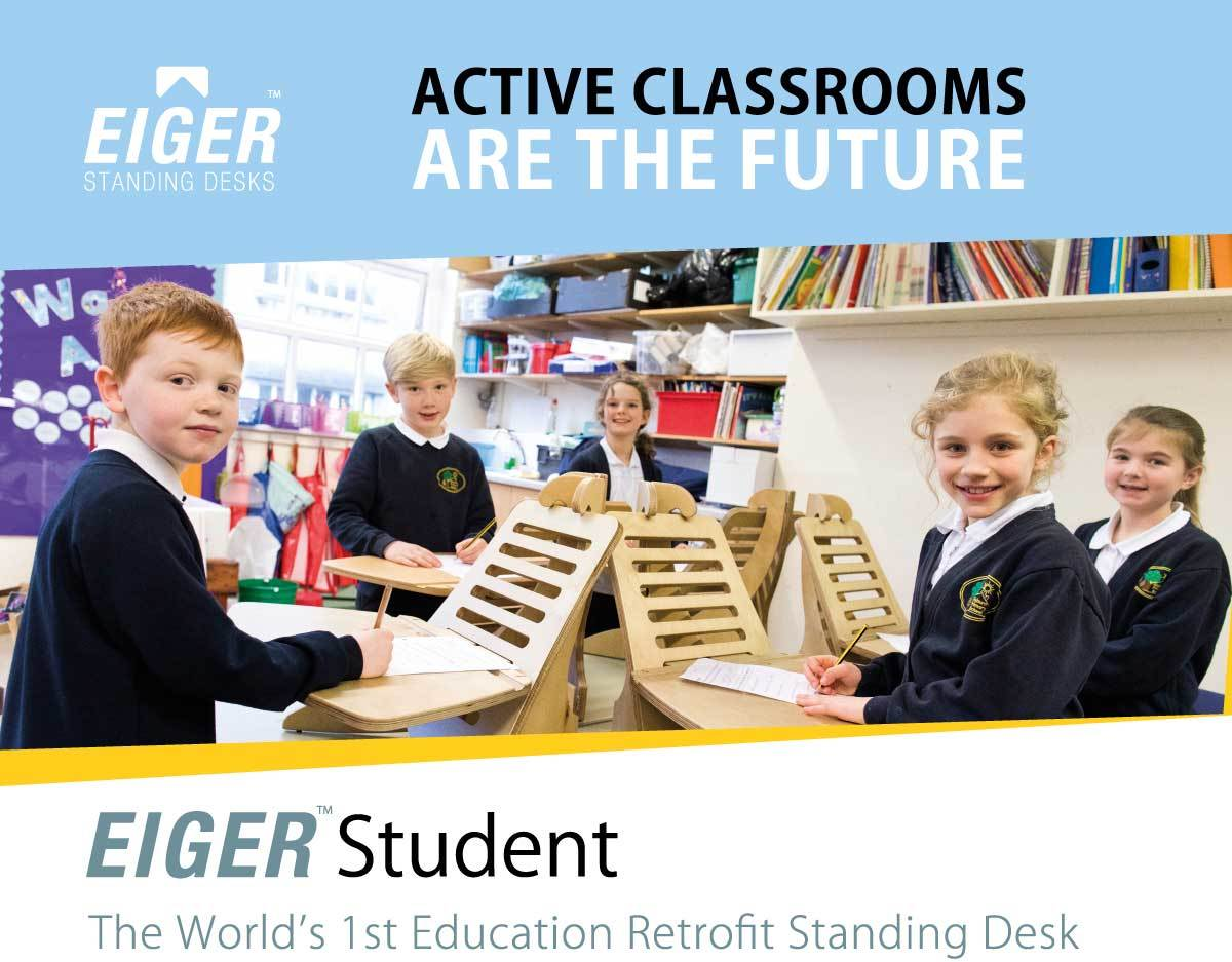 EIGER Student Deposit - I Want A Standing Desk