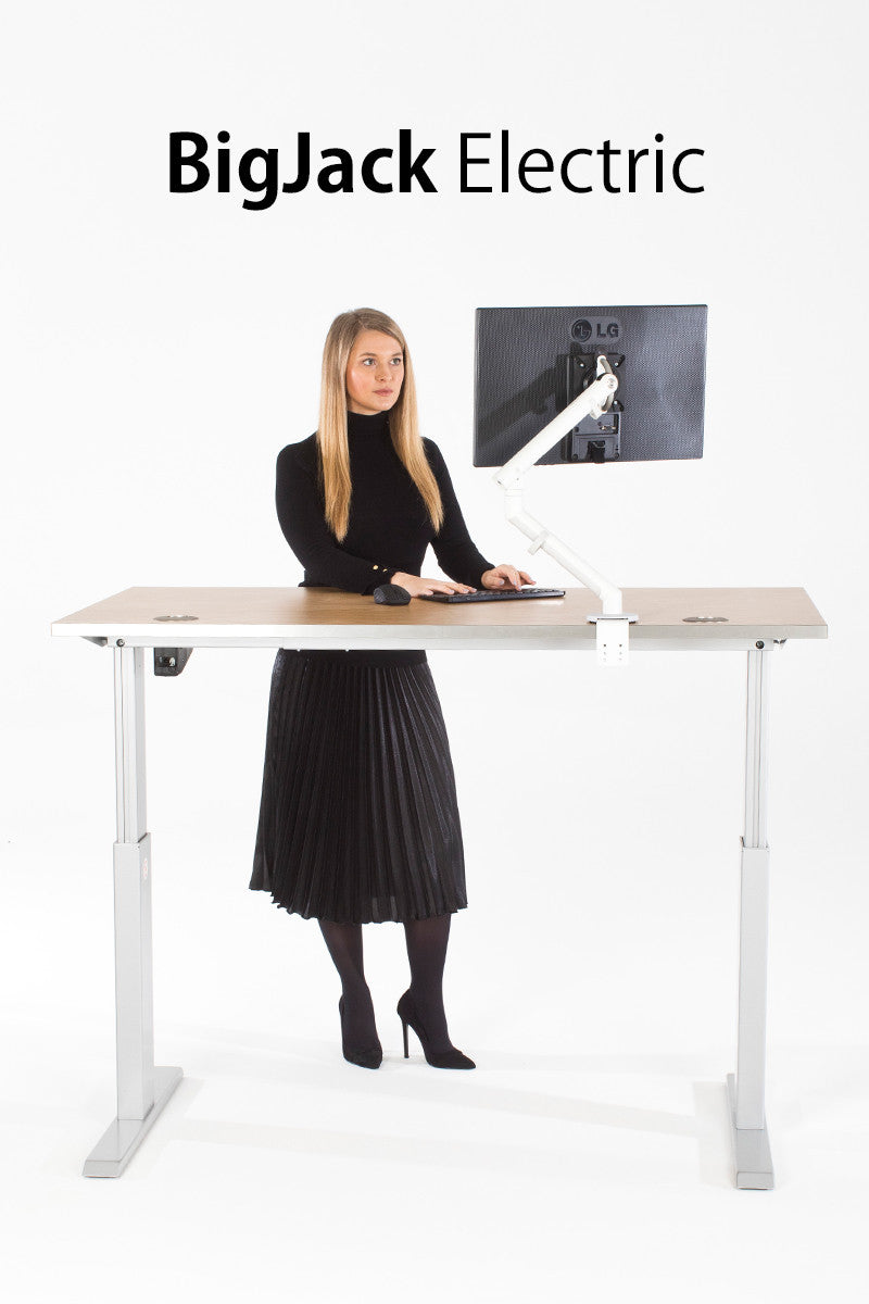 Big Jack Electric Dual Motor Standing Desk - I Want A Standing Desk