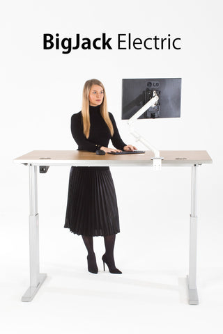 Big Jack Electric Standing Desk - I Want A Standing Desk