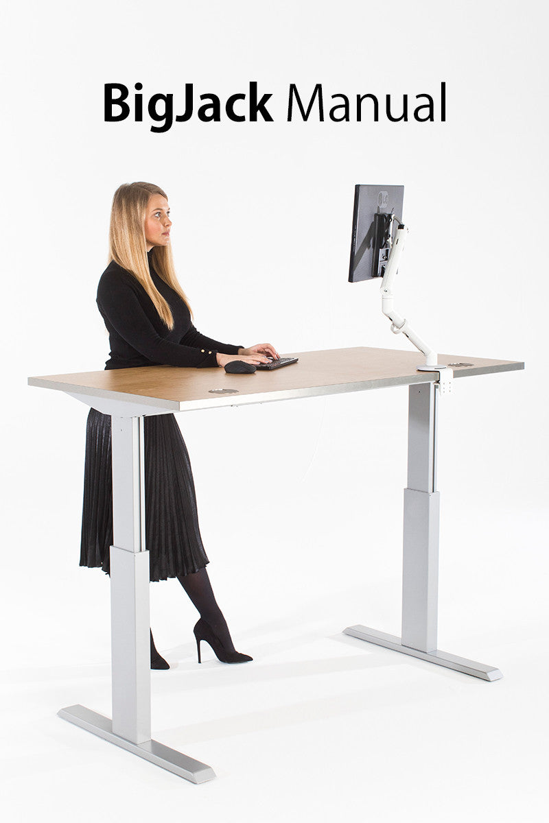 Big Jack Manual Standing Desk - I Want A Standing Desk