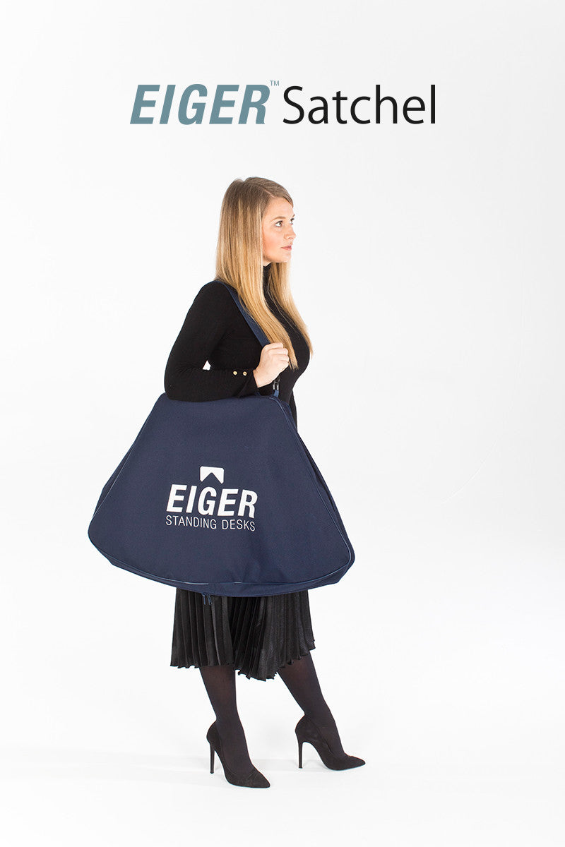 Eiger Satchel - I Want A Standing Desk