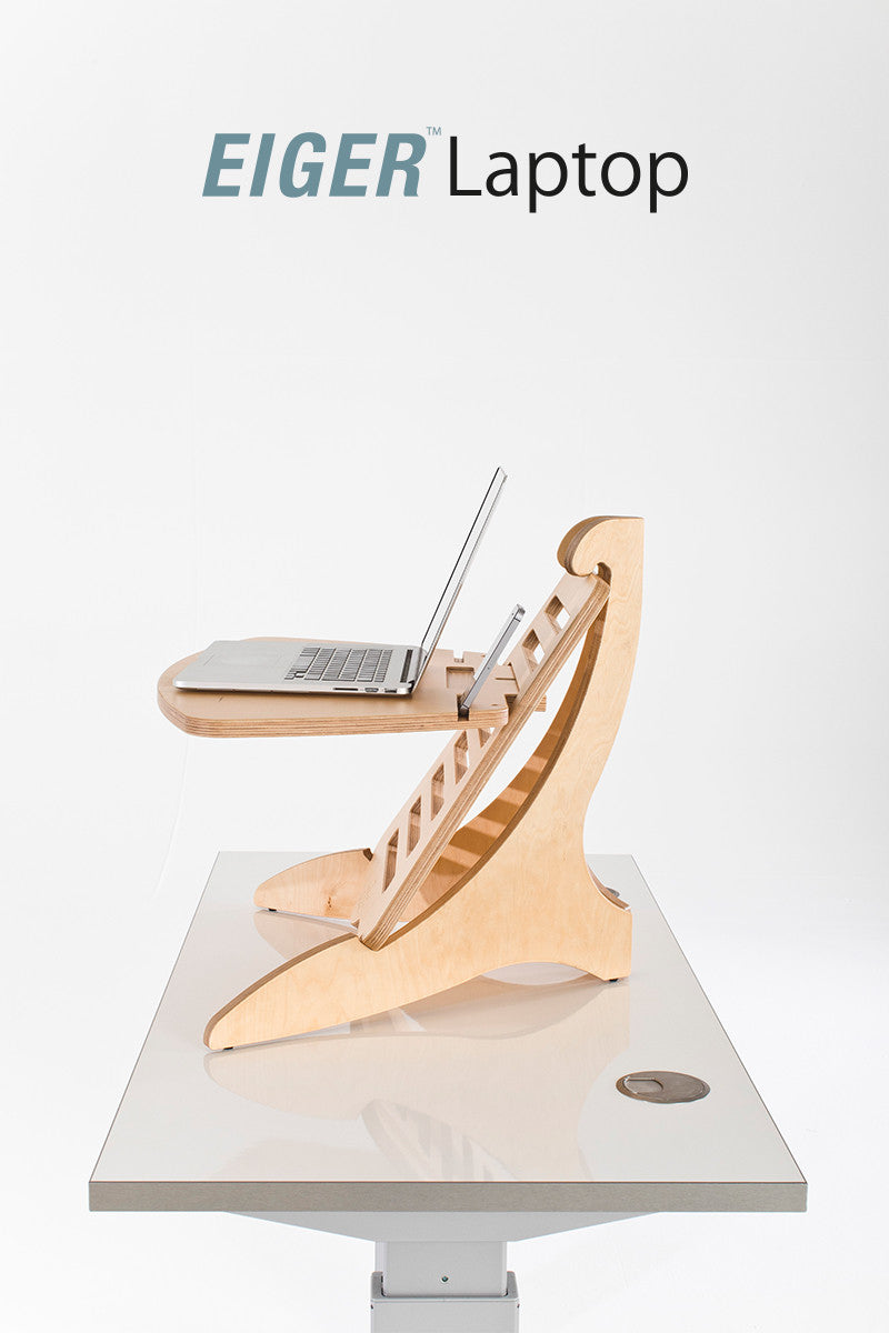 EIGER Laptop Standing Desk - I Want A Standing Desk