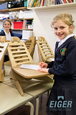 EIGER Student Classroom Standing Desk - I Want A Standing Desk
