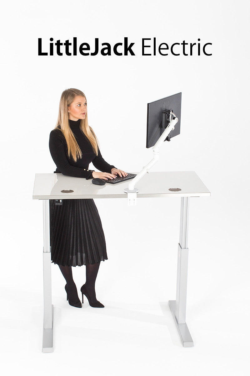 LittleJack Electric Dual Motor Standing Desk - I Want A Standing Desk