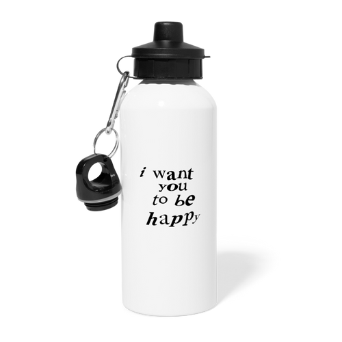 NAZ - I WANT YOU TO BE HAPPY (BOTTLE) - white