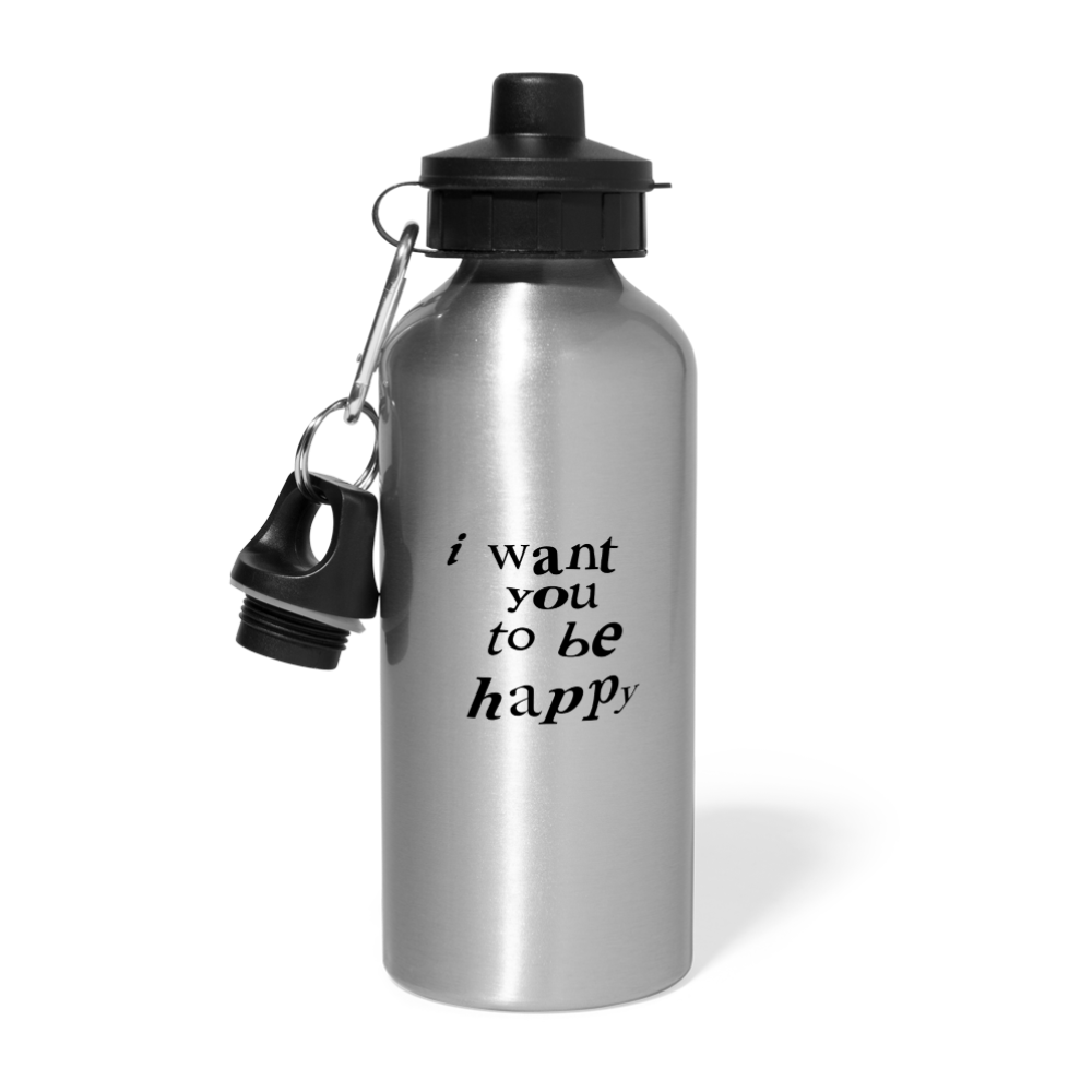 Load image into Gallery viewer, NAZ - I WANT YOU TO BE HAPPY (BOTTLE) - silver