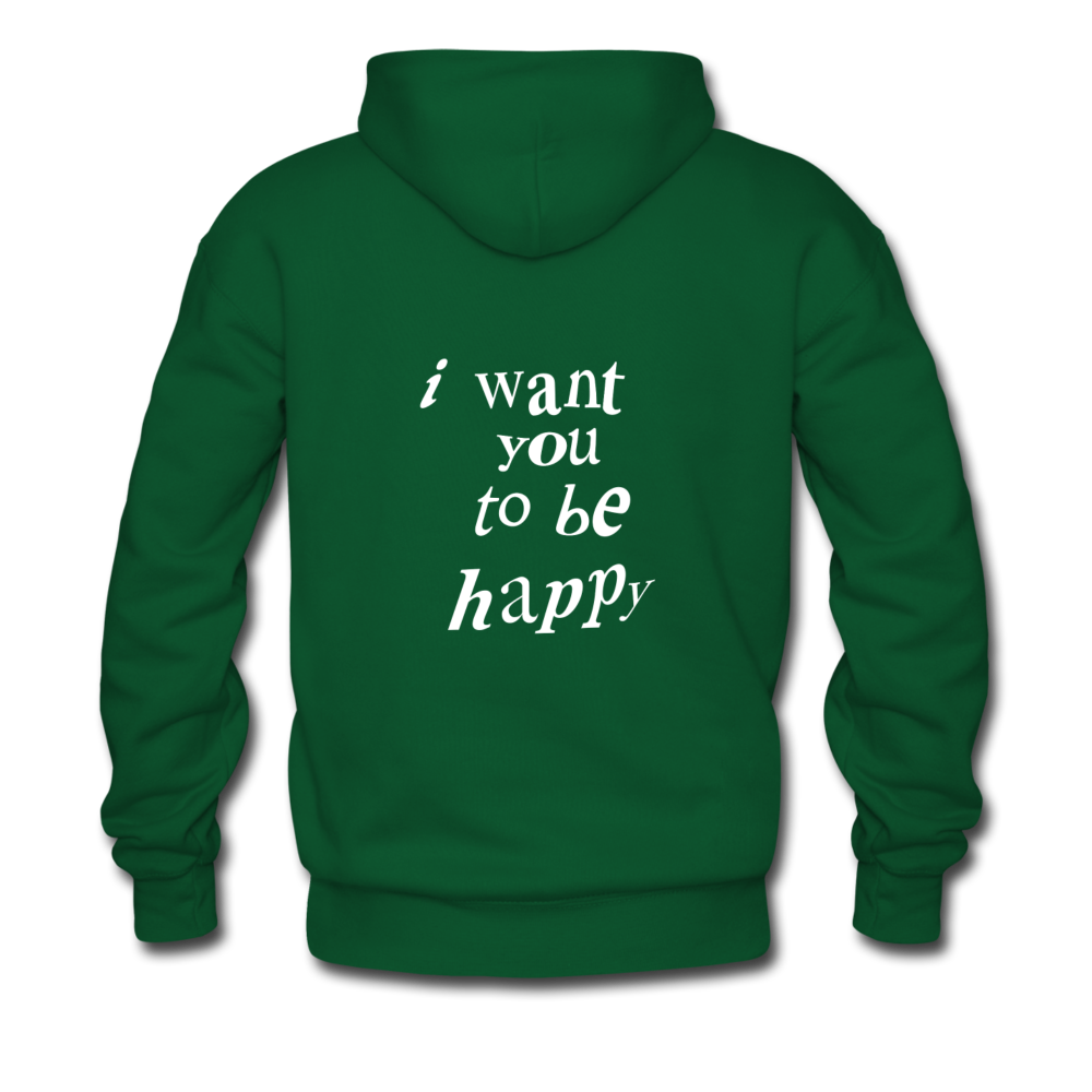 Load image into Gallery viewer, NAZ - I WANT YOU TO BE HAPPY (MENS) - forest green
