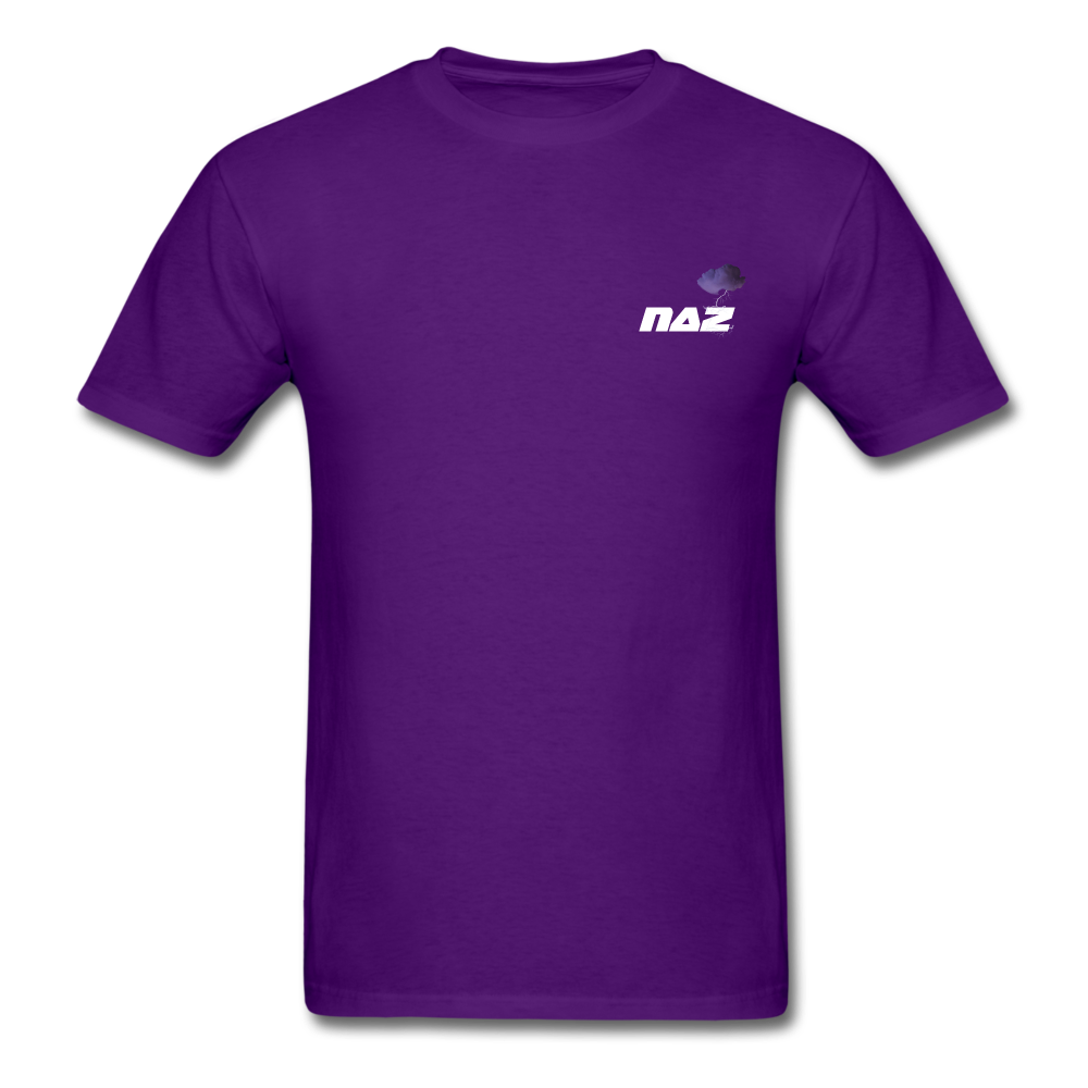Load image into Gallery viewer, NAZ - I WANT YOU TO BE HAPPY (MENS) - purple