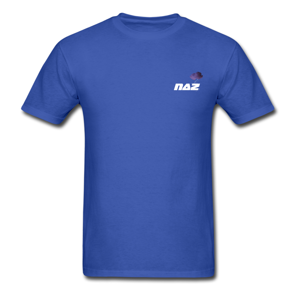 Load image into Gallery viewer, NAZ - I WANT YOU TO BE HAPPY (MENS) - royal blue