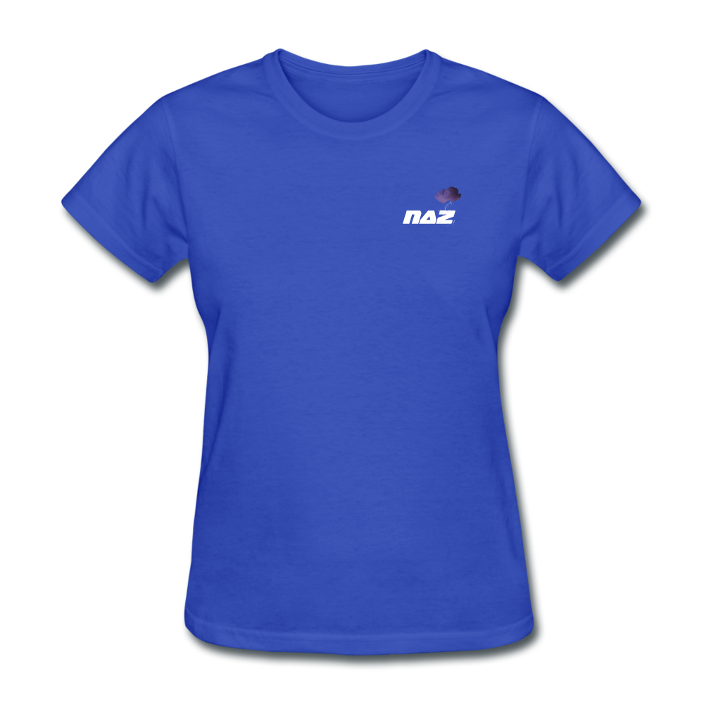 Load image into Gallery viewer, NAZ - I WANT YOU TO BE HAPPY (WOMENS) - royal blue