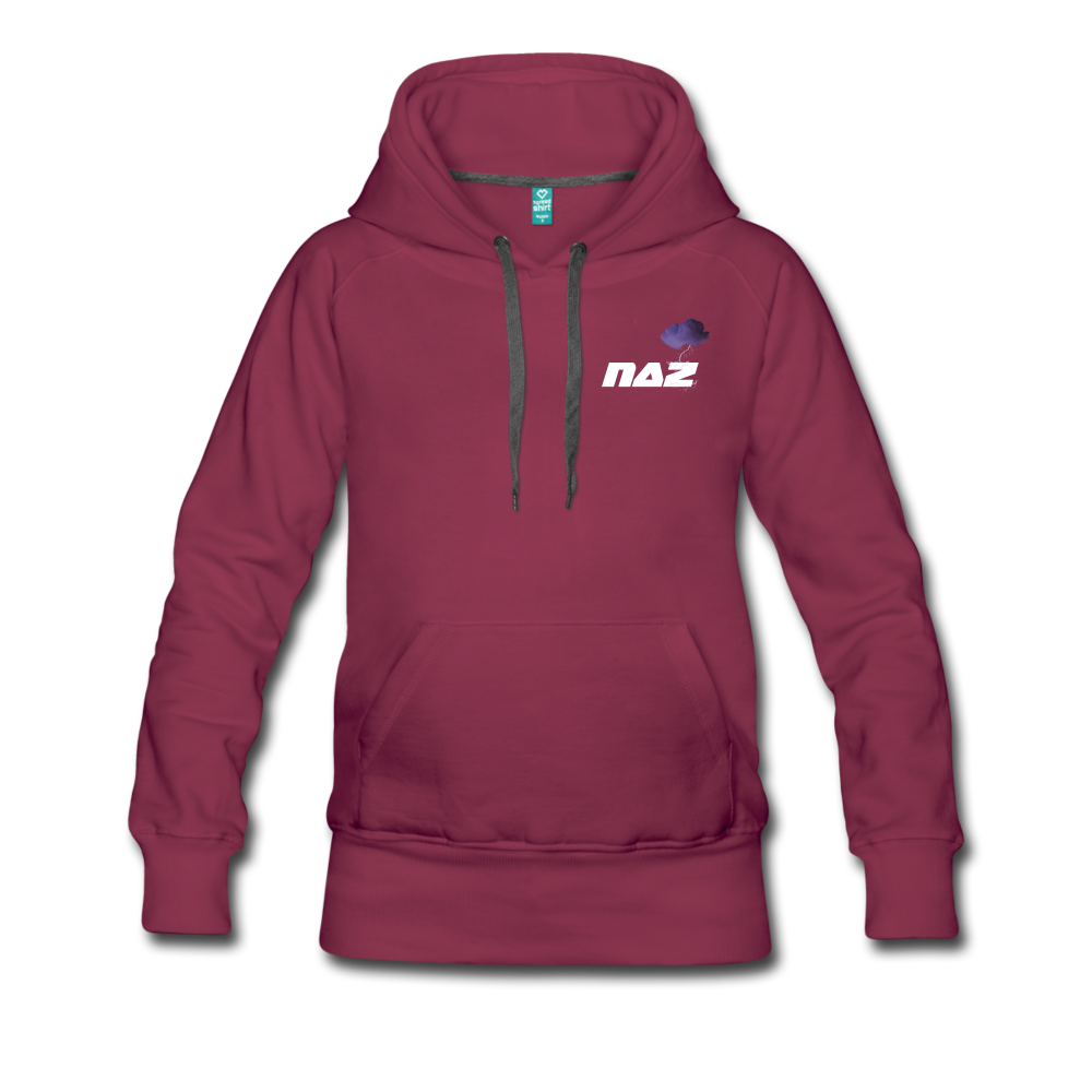 Load image into Gallery viewer, NAZ - I WANT YOU TO BE HAPPY (WOMENS) - burgundy