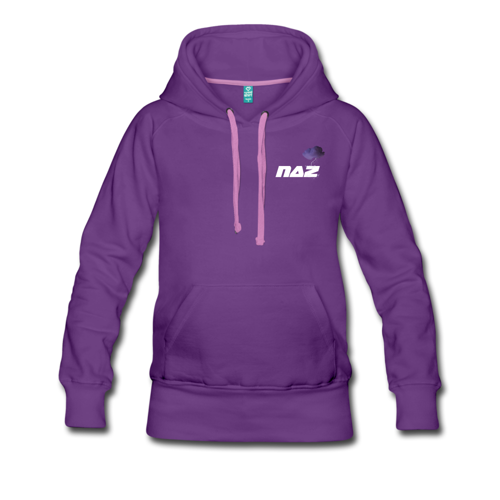Load image into Gallery viewer, NAZ - I WANT YOU TO BE HAPPY (WOMENS) - purple