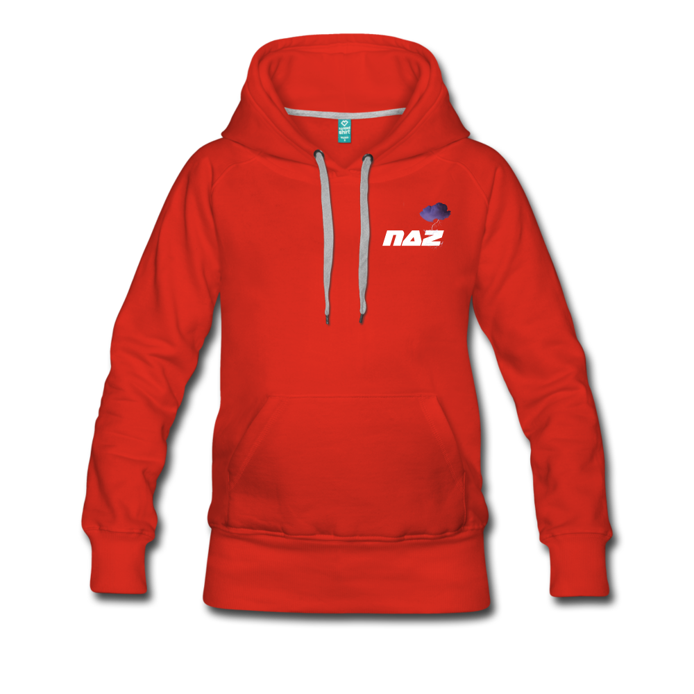 Load image into Gallery viewer, NAZ - I WANT YOU TO BE HAPPY (WOMENS) - red