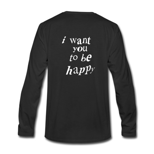 NAZ - I WANT YOU TO BE HAPPY (MENS) - black