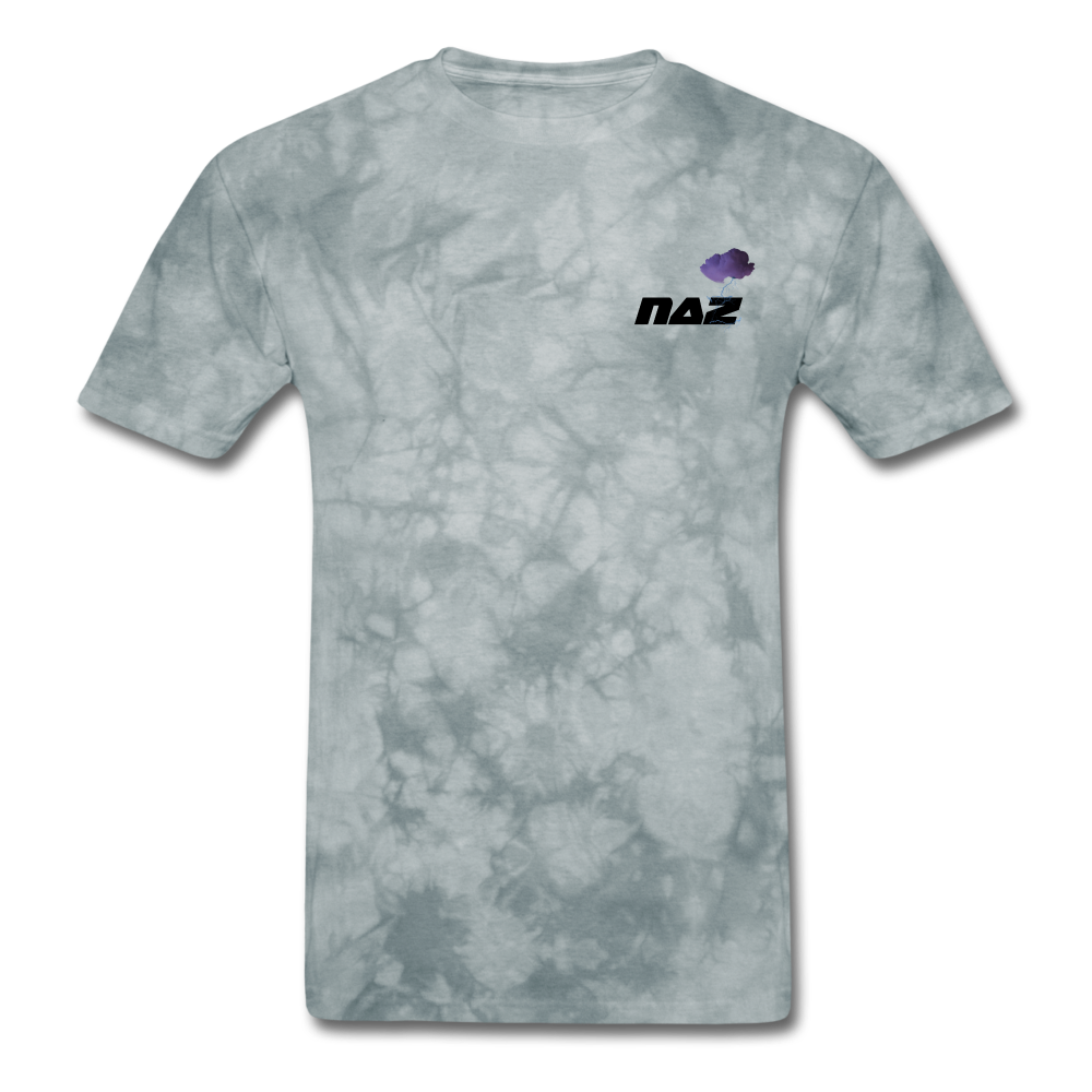 Load image into Gallery viewer, NAZ - I WANT YOU TO BE HAPPY (MENS) - grey tie dye