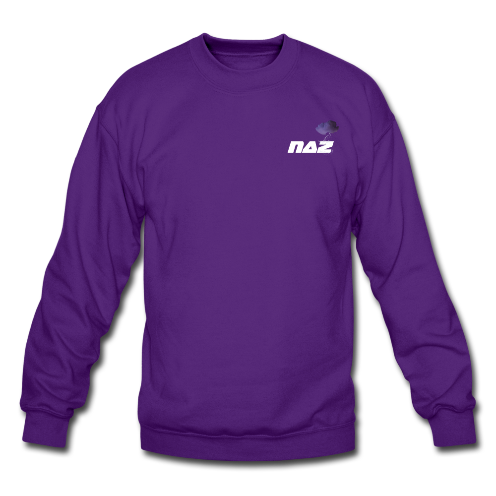 Load image into Gallery viewer, NAZ - I WANT YOU TO BE HAPPY Sweatshirt - purple