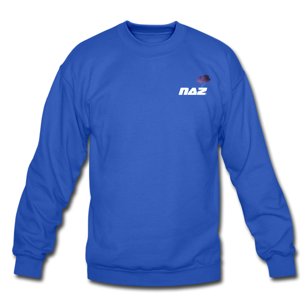 Load image into Gallery viewer, NAZ - I WANT YOU TO BE HAPPY Sweatshirt - royal blue