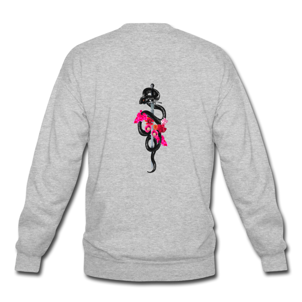 Load image into Gallery viewer, Dre x Jaxon - Snake Sweatshirt - heather gray