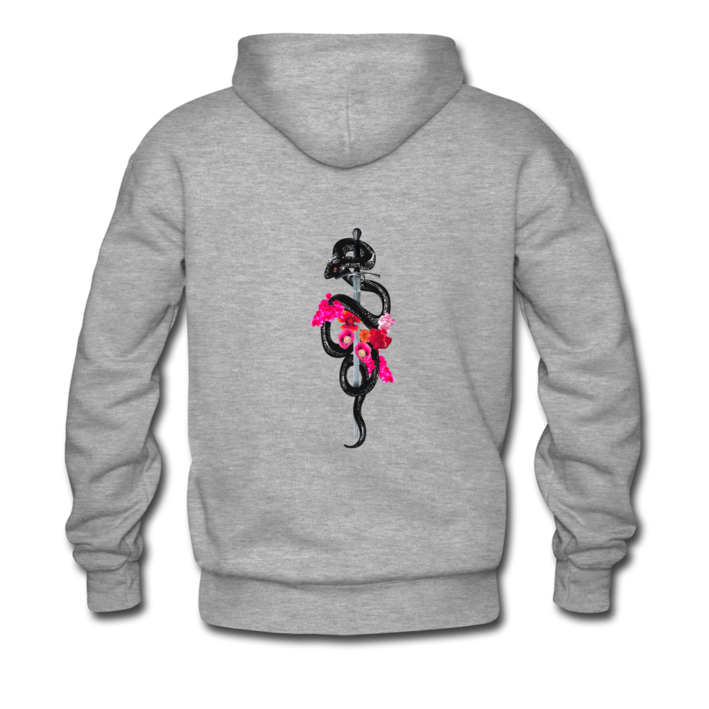 Load image into Gallery viewer, Dre x Jaxon - Snake Hoodie - heather gray