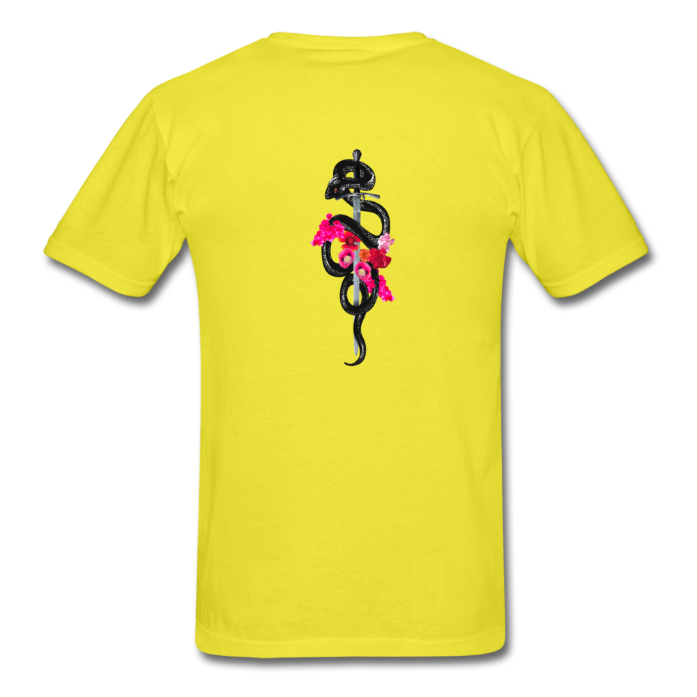 Load image into Gallery viewer, Dre x Jaxon - Snake T-Shirt - yellow